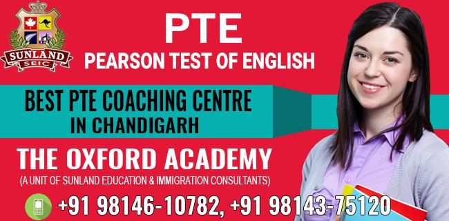 BEST PTE COACHING CENTER IN CHANDIGARH