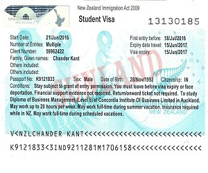 Chander kant - New Zealand Study Visa