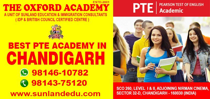 Best PTE Academy in Chandigarh