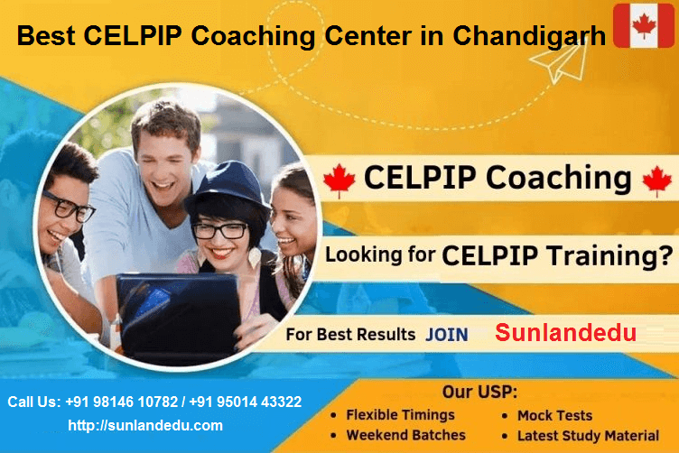 Best Celpip Coaching Center In Chandigarh