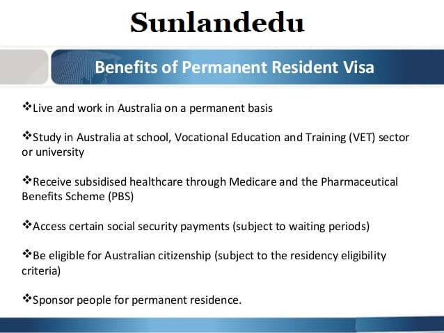 Benefits of Australia PR