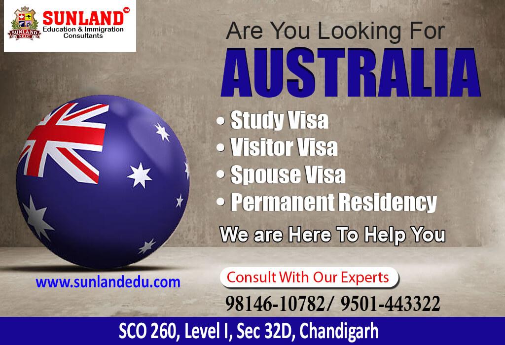 Australia Visa Consultant in Chandigarh