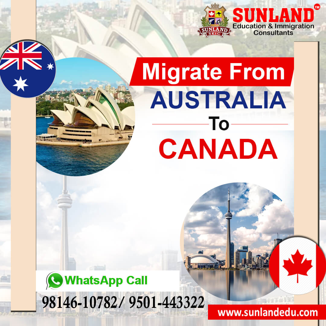 Migrate to Canada from Australia