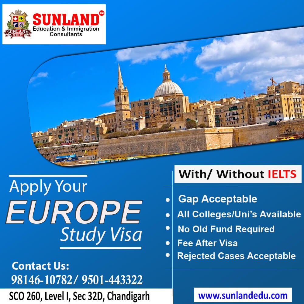 Europe Study Visa Consultants In Chandigarh