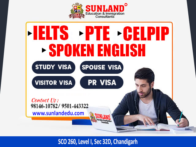 IELTS, PTE and CELPIP Coaching in Chandigarh