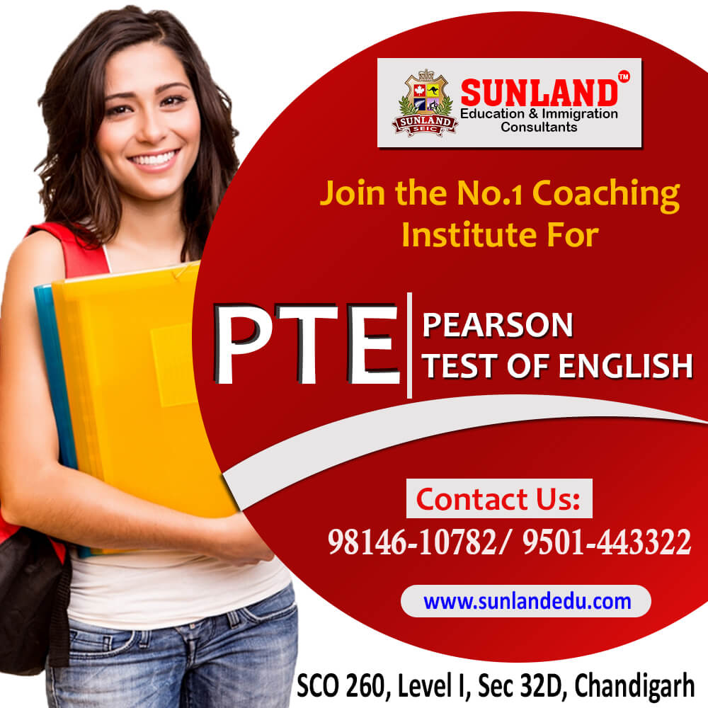 Best PTE Coaching Classes In Chandigarh
