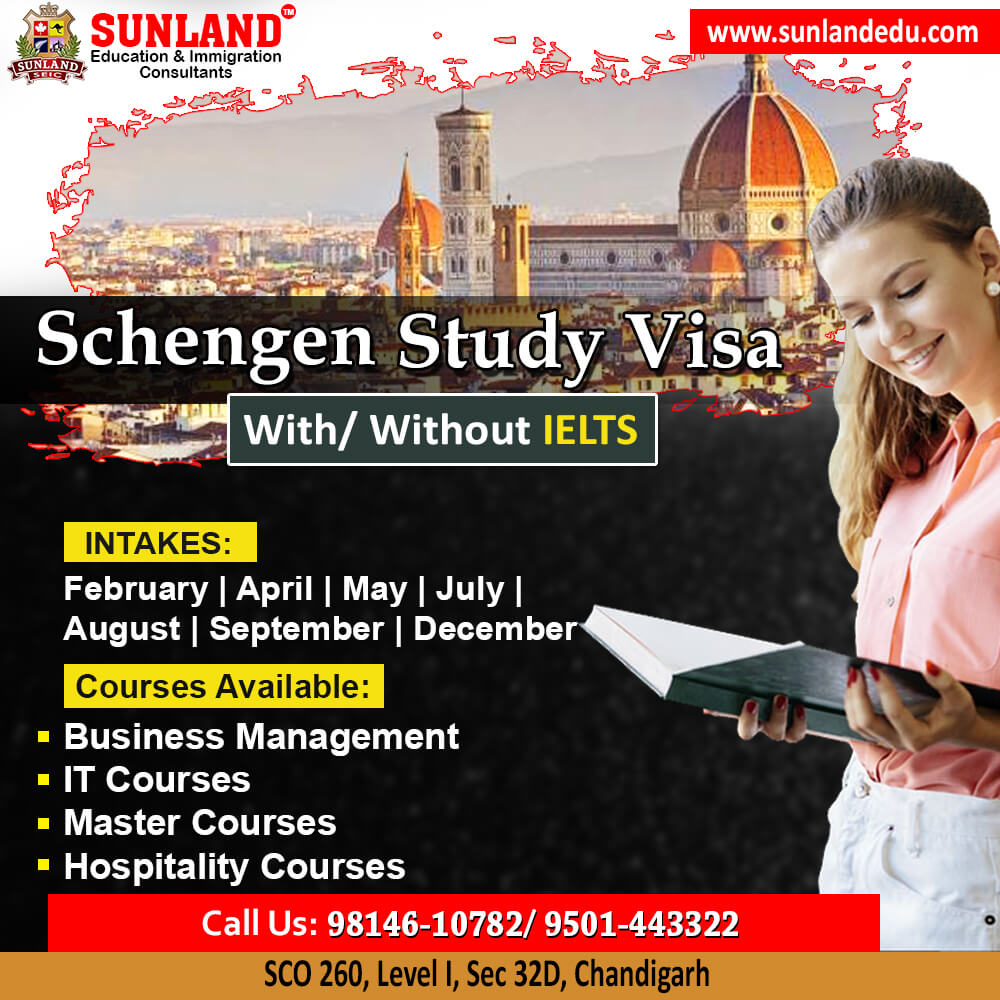 Schengen Visa Experts in Chandigarh